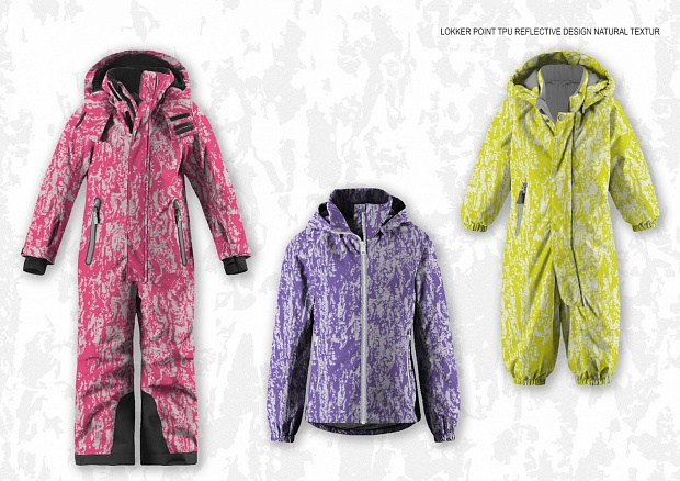LOKKER POINT TPU REFLECTIVE DESIGN NATURAL TEXTUR LAVANDA BRIGHT